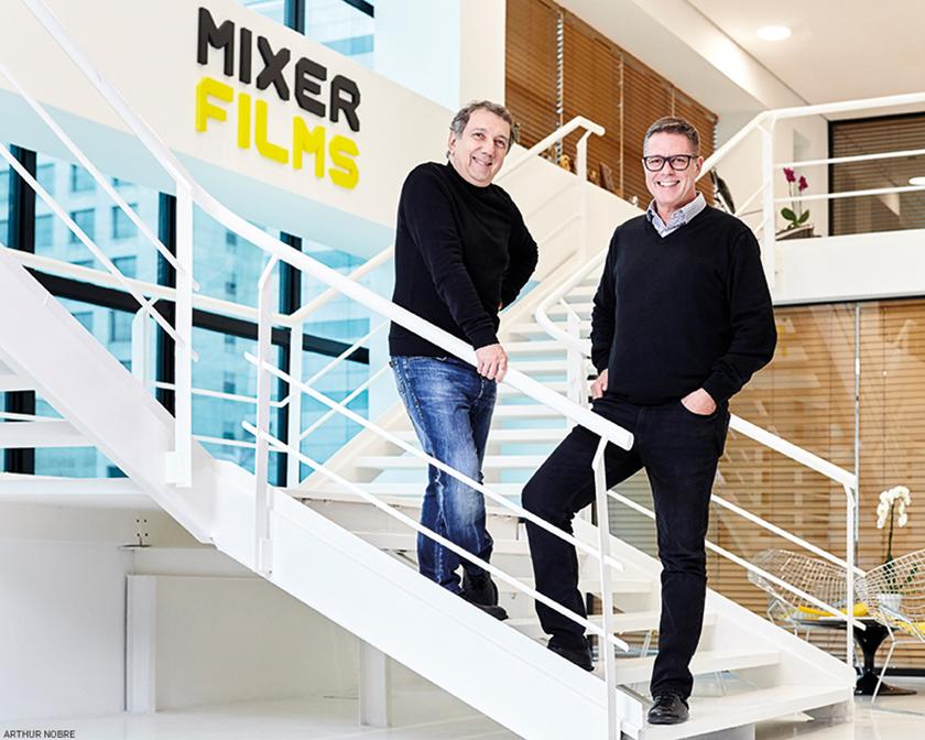 João Daniel Tikhomiroff e Hugo Janeba, da Mixer: possibilidade de consumo do audiovisual sob demanda eliminou o conceito de grade de programação