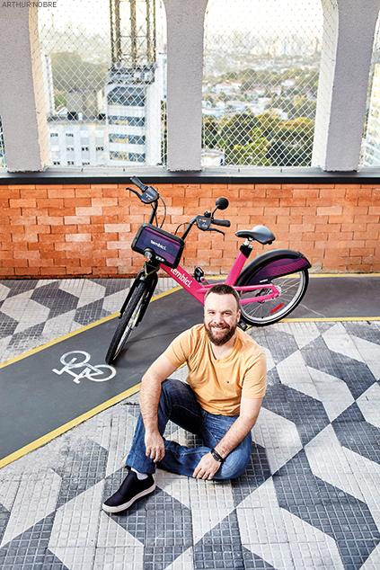 Maurício, da Tembici: durante greves, empresa tem realizado campanhas oferecendo bikes com desconto ou de graça, gerando 50% de aumento na utilização