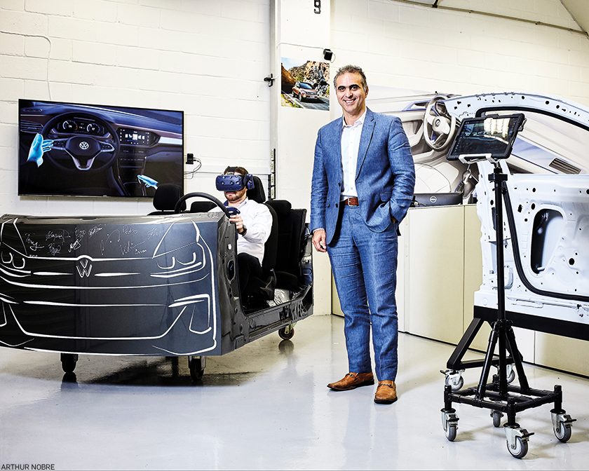 """""""Nosso compromisso como empresa global é, até 2050, ser certificada com o selo de CO2 neutro em toda a Volkswagen, seja venda de carro, produção ou compras"""""""