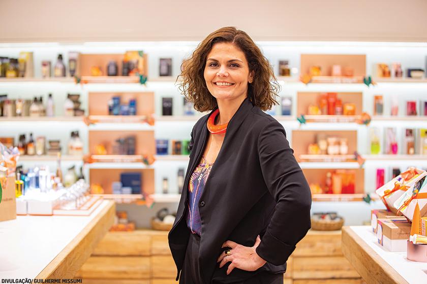 Sauzana Pamplona, diretora de inteligência de mercado da Natura: atuação consistente na área socio-ambiental será demanda prioritária para as marcas do setor